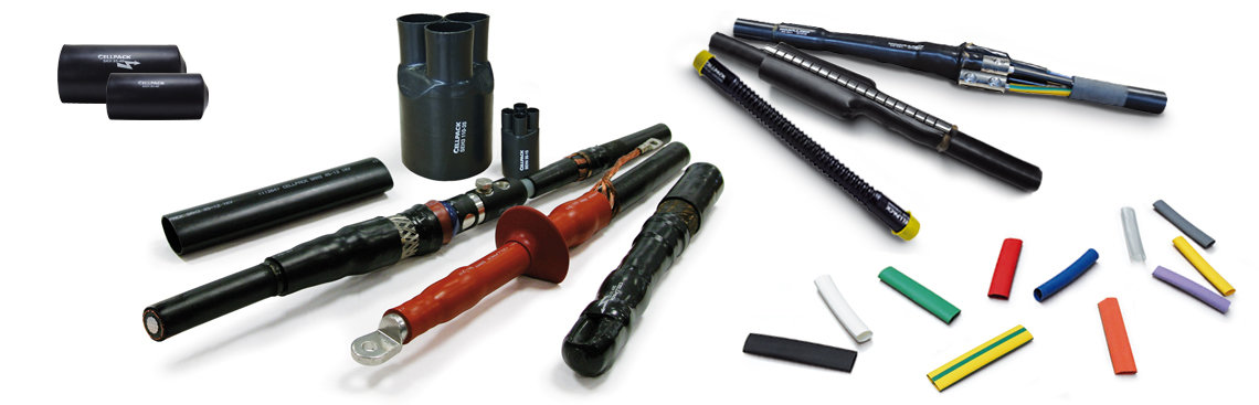 Heat shrink products for low- and medium voltages from Cellpack Electrical Products
