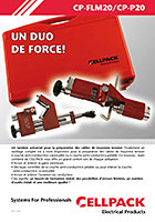 Cellpack Outil de pelage CP-P20, Outillage multiple CP-FLM20
